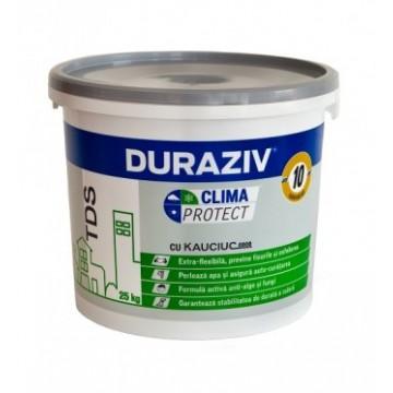 Duraziv Clima Protect cu Kauciuc Tencuiala decorativa structurata